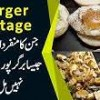 Unique Anda-Patty Burger At Temple Road- Burger Cottage | Anday Wala Burger | EP18