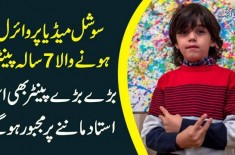 7-Year-Old Mikail Akar Is The Most Talented Artist | Watch How 'Pre-School Picasso' Works His Magic