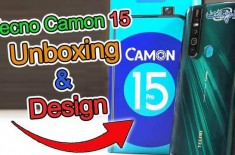 Tecno Camon 15 Unboxing | New Era of Super Night Camera Mode Phones