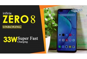 Infinix Zero 8 Unboxing, 90Hz Smooth Display, 33W Super-Fast Charge, Free IRocker Gift