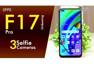 Oppo F17 Pro Unboxing, Slim & Sleek Body, Dual Selfie Camera, Matte Black Color