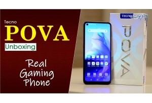 Tecno Pova Unboxing, 6GB Ram, Media Tek Helio G80 Processor | Real Gaming Phone