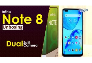 Infinix Ne Dual Selfi Camera Or 4 Back Camera Ke Sath Infinix Note 8 Launch Kar Dia - Watch Unboxing