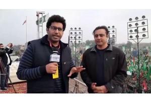 Imran Khan Ka Lahore Jalsa Barra Tha Ya PDM Ka? Mansoor Ali Khan & Beenish Saleem Reaction