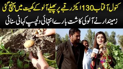 Aloo Ki Kasht Kaise Hoti Hai? - Kanwal Aftab Visits Potatoes Field