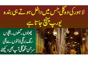 Lahore Ki Wo Gali Jis Me Enter Hote Hi Europe Shuru Ho Jata Hai - Gali Surjun Singh