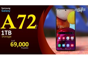 Samsung A72 Review - 1TB External Storage, Super Size Display, Eye Comfort Shield Aur Bohat Kuch