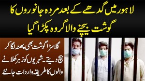 Lahore Me Donkey Meat Sale Karne Wala Group Pakra Gaya - Dead Meat Bhi Customers Ko Bech Dete Thay