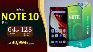 Infinix Note 10 Pro - 64MP Camera & 128 GB Internal Storage - Watch Review In Urdu