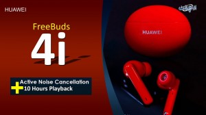 Huawei Introduced Huawei FreeBuds 4i With Active Noise Cancellation Technology