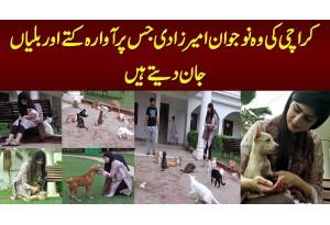 Karachi Ki Wo Naujawan Ameer Zadi Jis Per Awara Kuttay Aur Billian Jaan Dete Hain