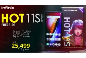 Infinix Hot 11S X Free Fire Edition Launched In Pakistan - 50MP Triple Camera - Watch Review