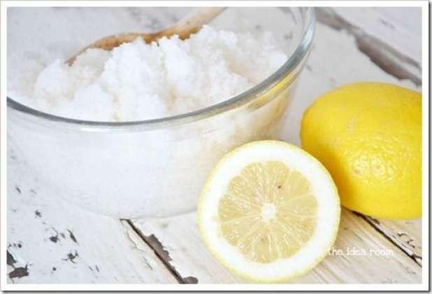 Scrub Or Lemon Se Jild Nikharain
