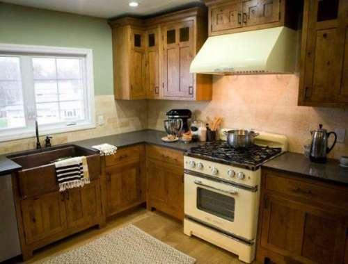 باورچی خانے کا لکڑی کا سازوسامان