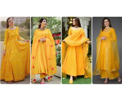 Yellow Colour - Mousam Garma Mein Thandak Ka Ehsaas